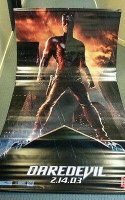 Ben Affleck , Daredevil, original movie vinyl poster banner 5x8