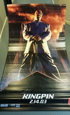 Michael Clarke Duncan as Kingpin , Daredevil, movie vinyl poster banner 5x8