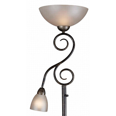 New Elegant Classic Wall Light Lamp Sconce Glass Steel Mother and Son Torchiere