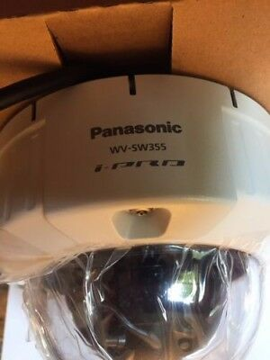 Panasonic WV-SW355 DynamicHD Vandal Resistant Dome Network Security Camera NIB