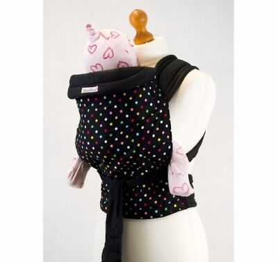 Palm & Pond Mei Tai Baby Sling - Multi Colour Polka Dot new without packaging