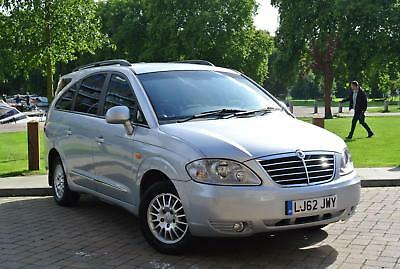 2012 Ssangyong Rodius 2.7TD 270 T-tronic ES Automatic 7 seater + full leather