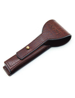 Captain Fawcett Handcrafted Leather Mach 3 Razor Case Shave Shaving Accessories