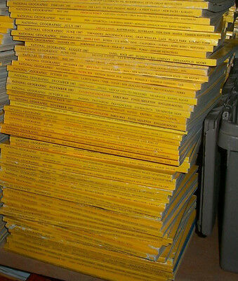 National Geographic Magazines 1990 - 2016 Lot of 50 No Complete Years