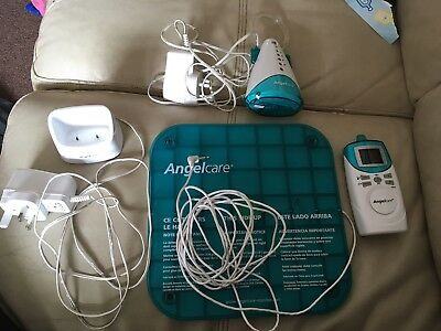 Angelcare Sensor Baby Monitor And Pad And Chargers