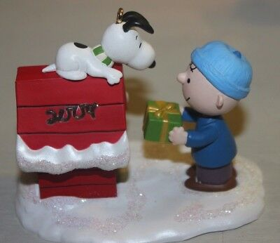 2004 Merry Christmas Snoopy - Peanuts Hallmark Ornament From 10,000 Pc Lot
