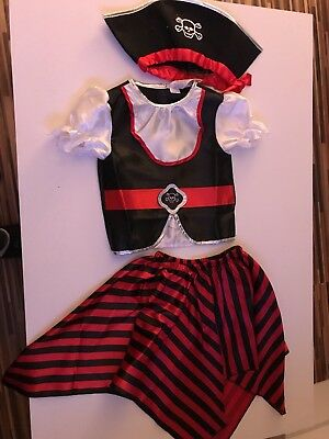 Girl Pirate Costume  7-8 Years