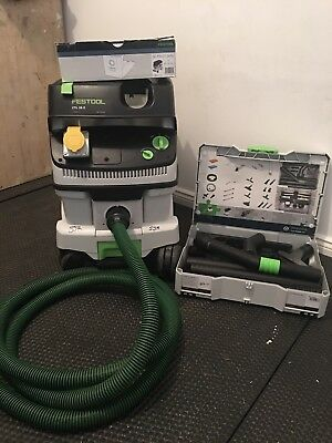 Festool CLEANTEC 26 E Mobile Dust Extractor+Systainer Cleaning Set VVGC