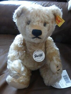 "Steiff bear classic 1920 11"" tall blond hair colour"