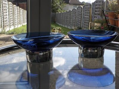Pair of Bon-Bon Dishes by Hunt & Roskell ~ Retailed by Asprey