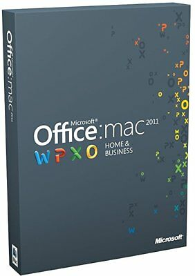 Genuine Microsoft Office Home and Business 2011 For MAC