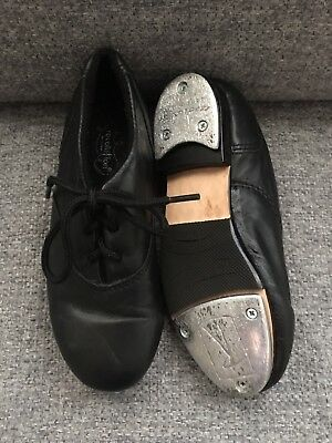 Black Tie Tap shoes Size 1.5--Worn only a few times.
