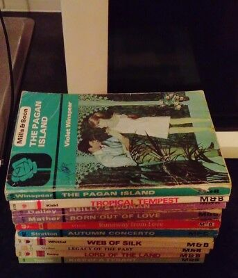 Mills and Boons Books Joblot 2