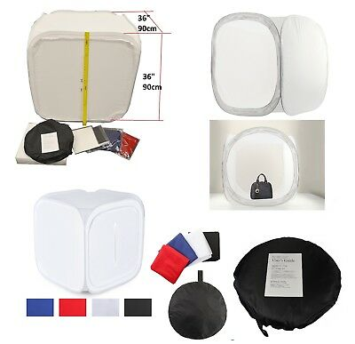 "Square 36""x36"" inch Studio Photography Light Tent -Dome-Photo Cube Box 90cm"