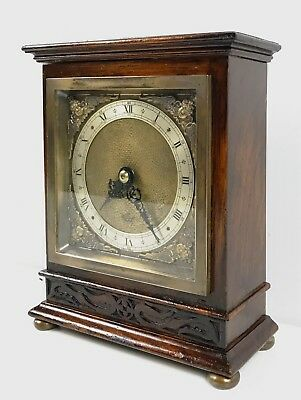 Elliott Oak Cased Mantle Clock