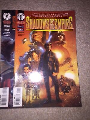 Star Wars Shadows Of The Empire Comic Issues 1 2