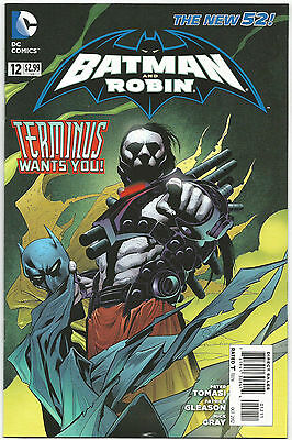 BATMAN and ROBIN #12 DC COMICS 1st PRINTING 10/2012 THE NEW 52