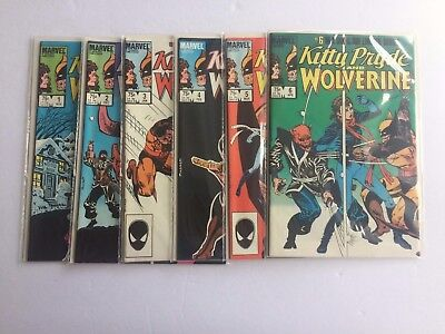 Kitty Pryde and Wolverine 1-6 Marvel Comics