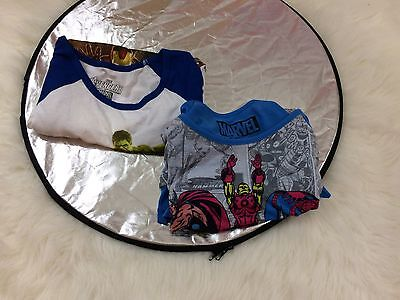 A lot of 2 NEW RUE 21 Girls Juniors  Marvel Avengers T shirt size Large (11-13)
