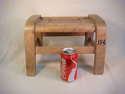 Primitive Bent Wood Stool 1800's Childs Wooden