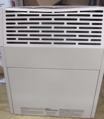 HouseWarmer Slim-Profile Direct Vent Heater with Blower — Propane, 8000 BTU