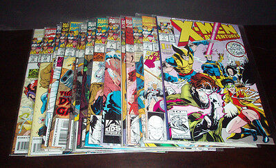X-Men Adventures Complete 1-15 Vf+/nm Season 1 (1992 Series) Lot Set Run Marvel