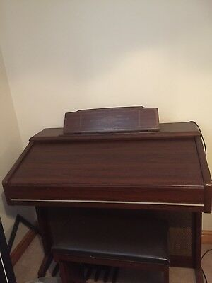 Technics E66.electronic organ complete with stool