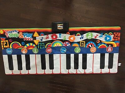 """Alex Toys Gigantic Step & Play Piano 70"""" Long x 30"""" Wide"""