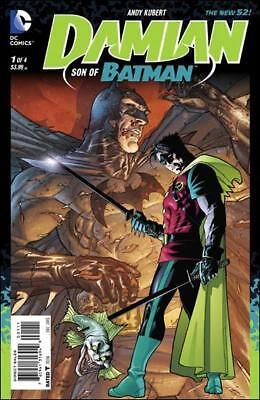 Damian son of Batman    #1 to 4 Complete    NM- to NM/M