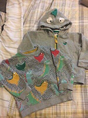 Baby Boys Dinosaur Zipper And Jumper 18-24