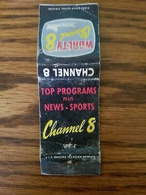 Wgal Tv Channel 8  , Matchbook Cover