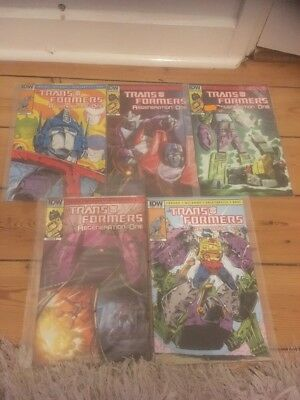 Transformers Regeneration One Issues 86-90