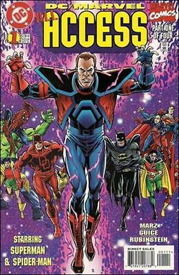 DC Vs Marvel All Access   #1 to 4 Complete  NM- to NM/M