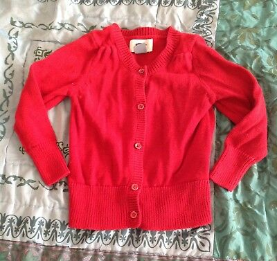 Warm Old Navy Dark Red Sweater Baby Girl 18-24 Months Toddler Clothes Holiday