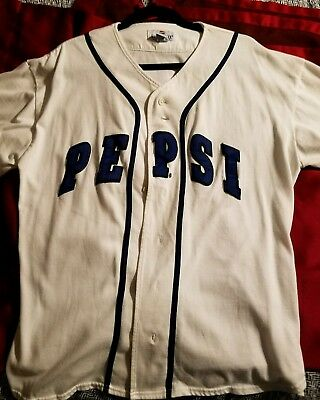 Pepsi Baseball/Softball Jersey Shirt Adult L/XL Generation Next Exclusive Promo!
