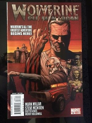 Wolverine #66 (Aug 2008, Marvel) first oldman logan