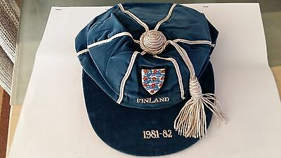 England International Cap