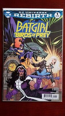 Batgirl and the Birds of Prey 1 (Oct 2016, DC) Rebirth NM