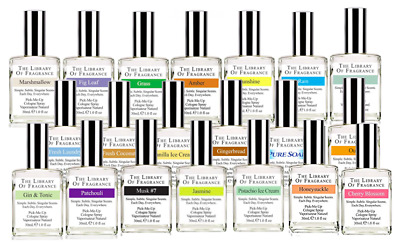 The Library of Fragrance Cologne Spray Perfume Scent 30ml Layering Unisex