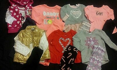 Baby Girl Size 18 months Fall and Winter Clothing Lot