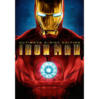 Iron Man (DVD, 2008, 2-Disc Set, Ultimate Edition) W/ SLIPCOVER widescreen