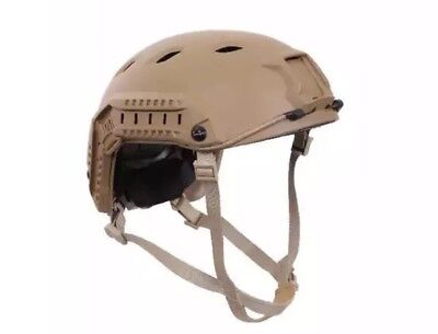 Coyote Military Combat Style Advanced Tactical Adjustable Airsoft Helmet 1294
