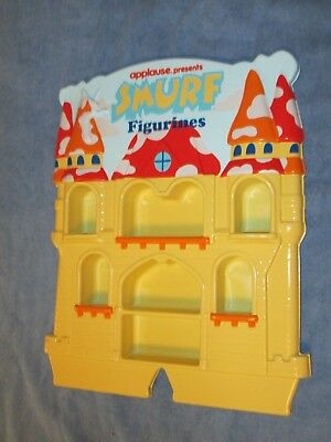 Smurfs Collectables Lot D  Castle Display for your PVC Smurf Figurines
