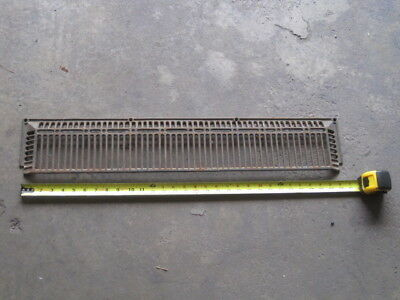 Antique vintage metal vent grate home remodel restoration project?