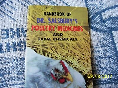 Vintage Handbook of Dr. Salsbury's Poultry Medicines and Farm Chemicals Brochure