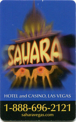 Las Vegas Sahara Casino Room Key - Blue Version