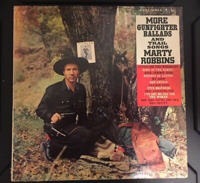 Marty Robbins - More Gunfighter Ballads and Trail Songs NM/M Vinyl LP