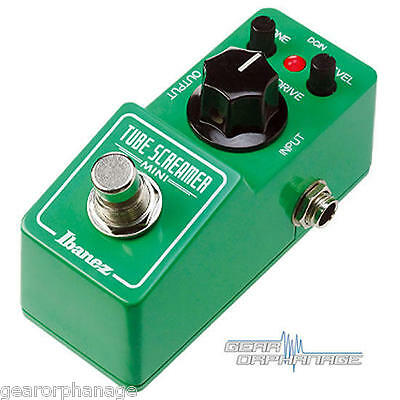 Ibanez TS Mini Tube Screamer Compact Overdrive Guitar Effect Pedal NEW