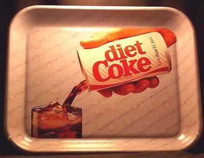Diet COKE Tray Probably Made in Early 1980's from COCA-COLA Company