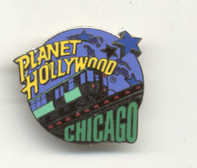 Planet Hollywood Chicago Train City Pin